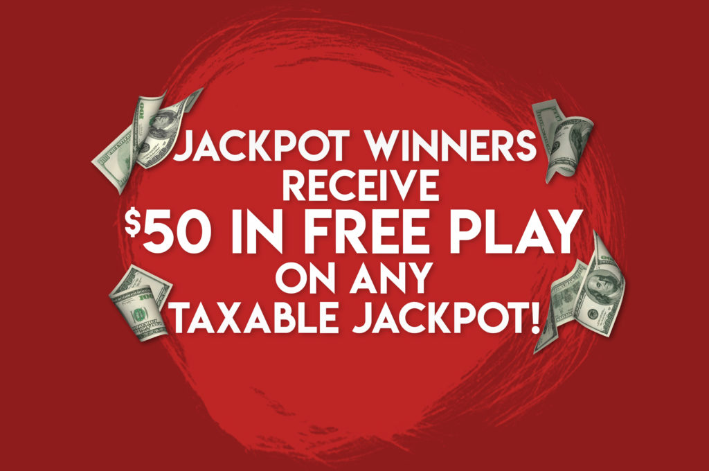 is casino free play taxable